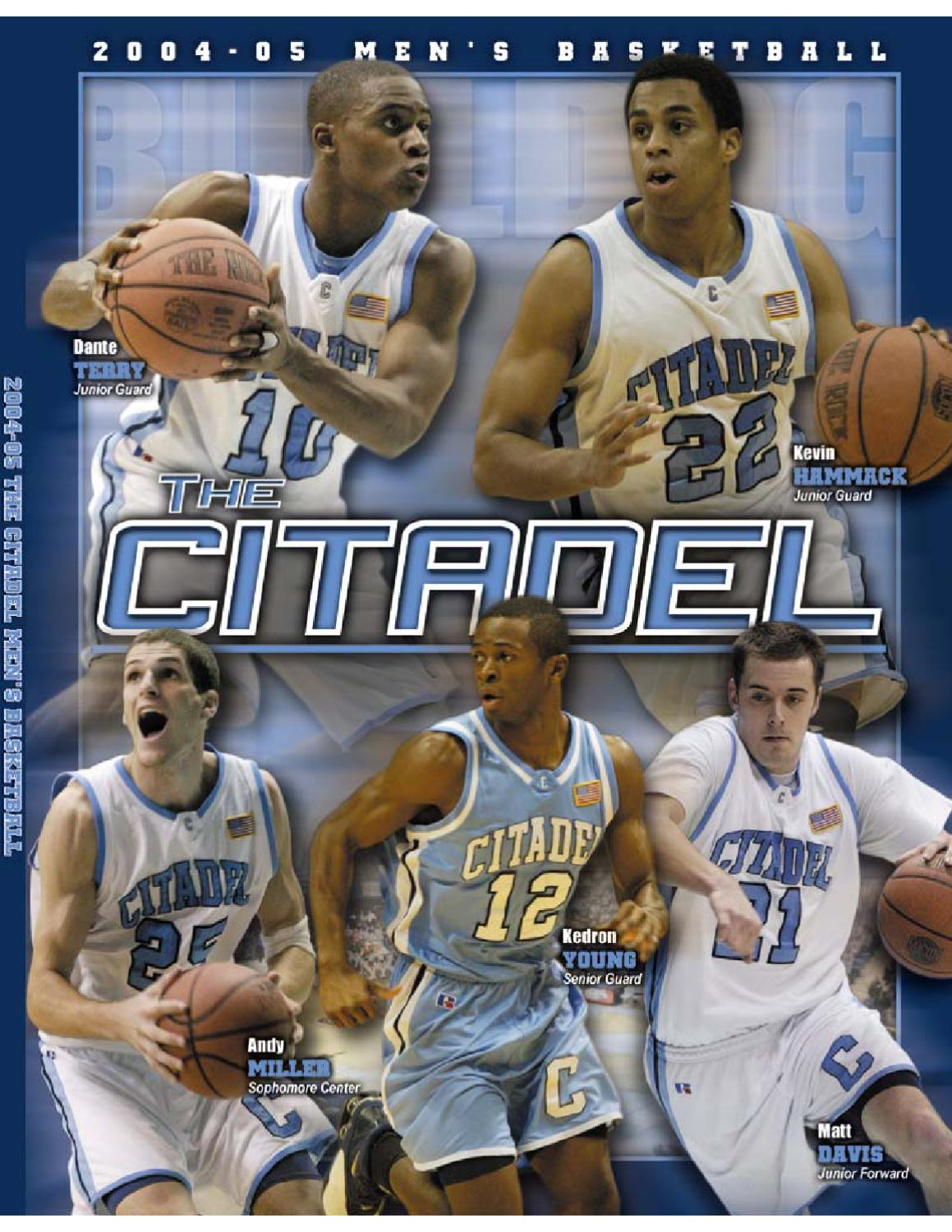 0bfbfb137 2004-05 The Citadel Basketball Media Guide by Jon Cole - issuu