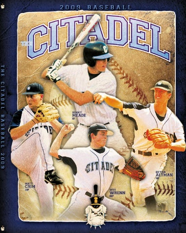 2009 The Citadel Baseball Media Guide by Jon Cole - issuu