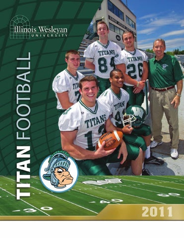 2011 Football Media Guide by Illinois Wesleyan University - issuu 27ce878ad