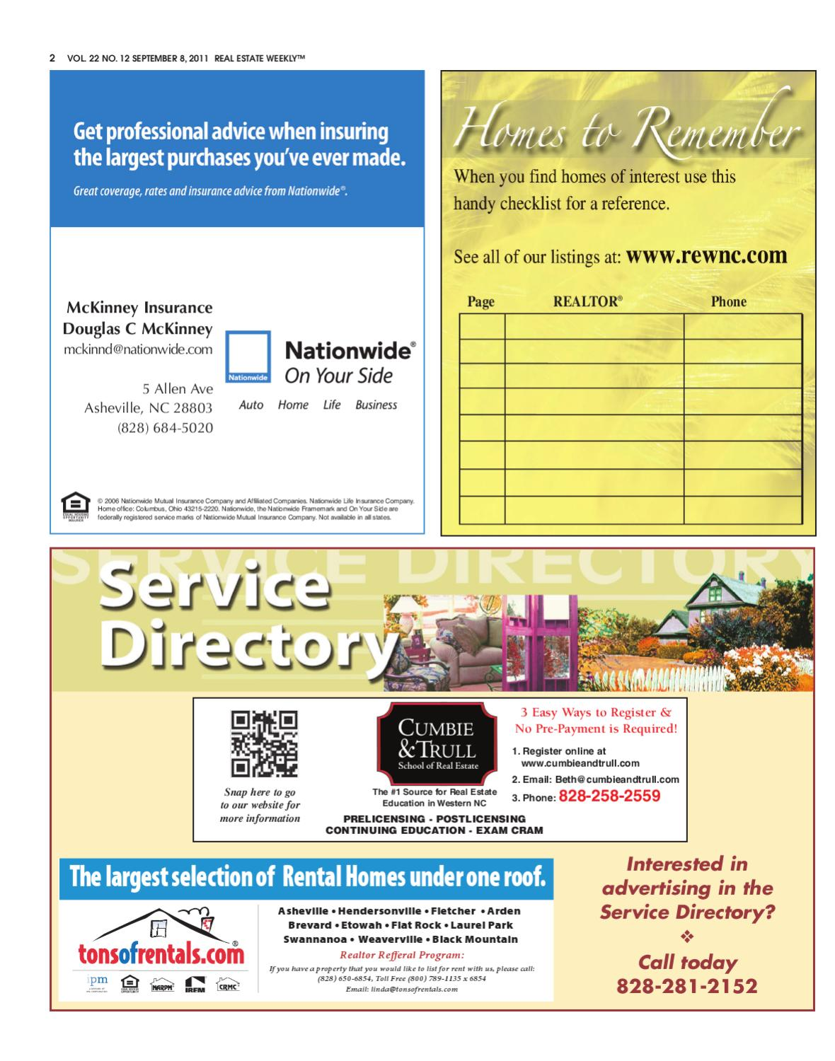 The Real Estate Weekly Issue 12 by WNC Homes & Real Estate