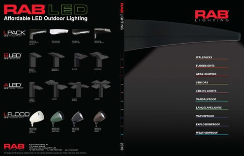 rab lighting catalog by alcon lighting issuu rab lighting