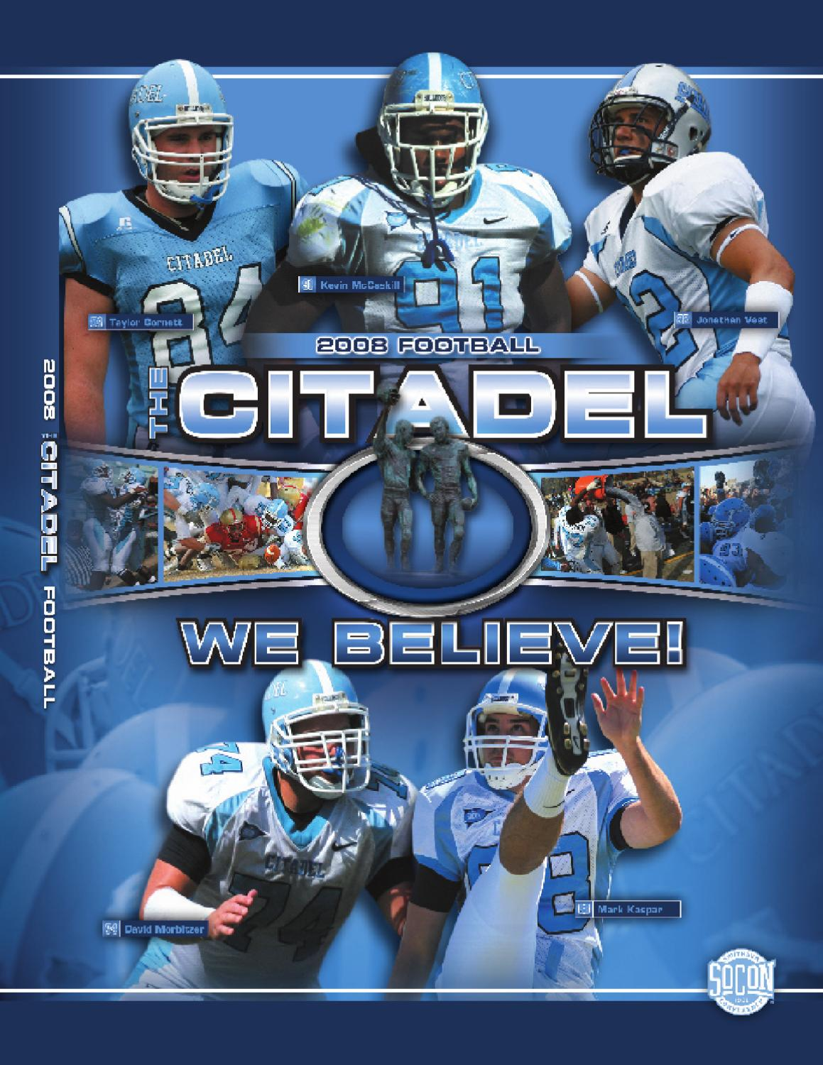 2008 Citadel Football Media Guide by Jon Cole issuu  supplier