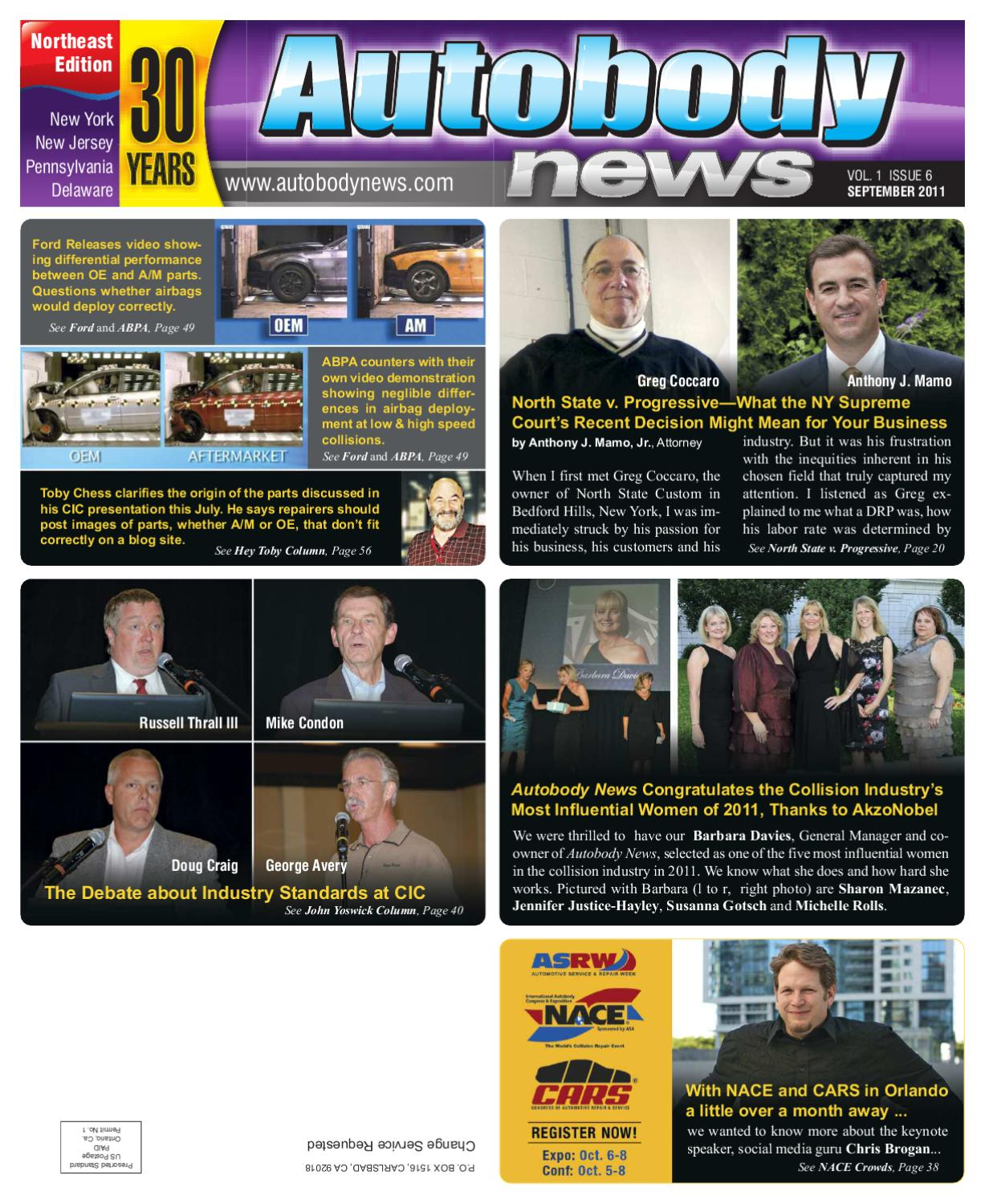Autobody News September 2011 Northeast Edition By Issuu Net O View Topic Bmw Reset Tool Circuit Diagram Please Check