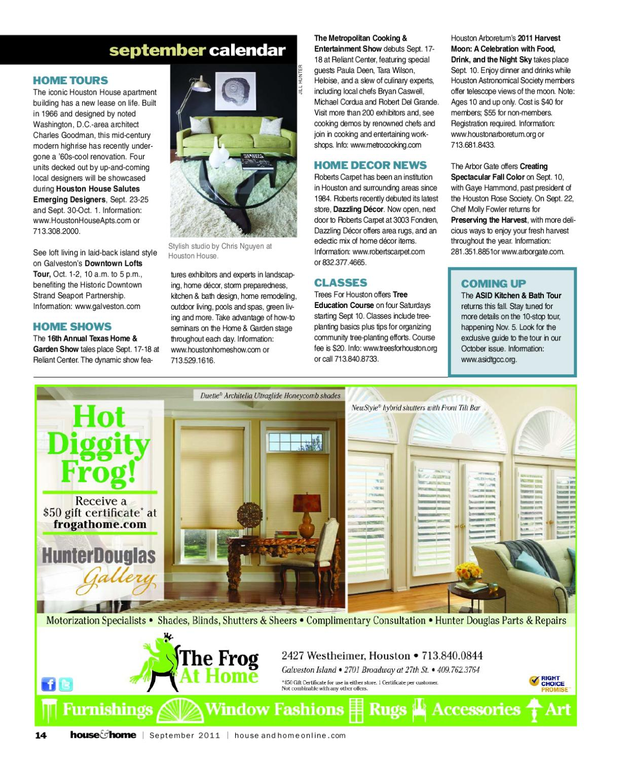 Houston House Home Magazine September 2017 Issue By Issuu