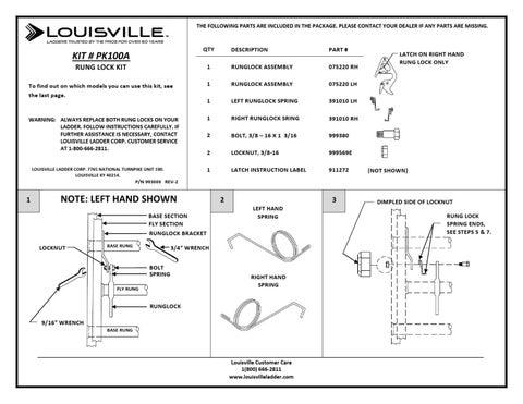 Pk100a By Louisville Ladder Inc Issuu