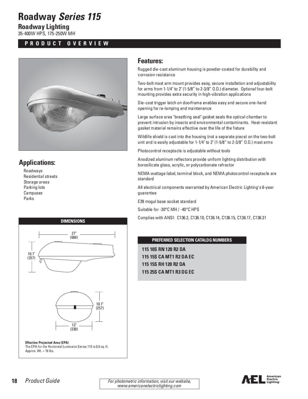 American Electric Lighting Catalog by Alcon Lighting - issuu