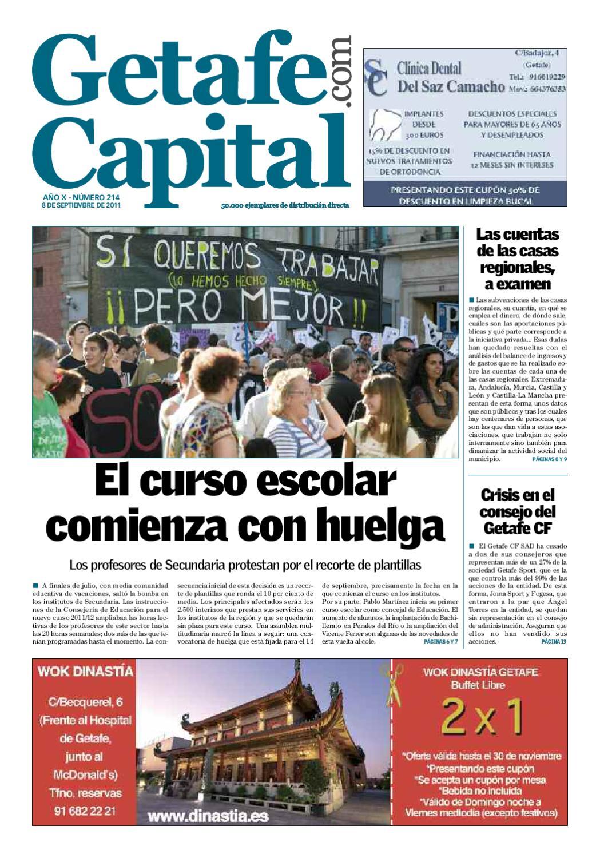 Getafe Capital Nº214 By Jimenez Operamedia Issuu