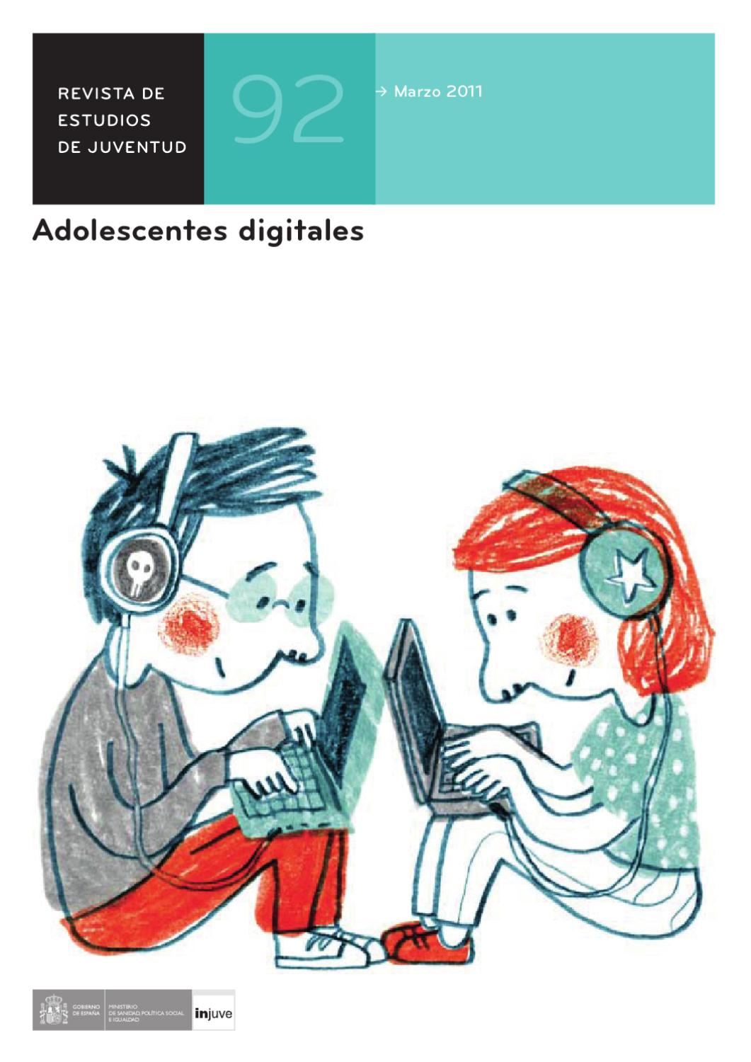 Revista de Estudios de Juventud Nº 92. Adolescentes digitales by ...