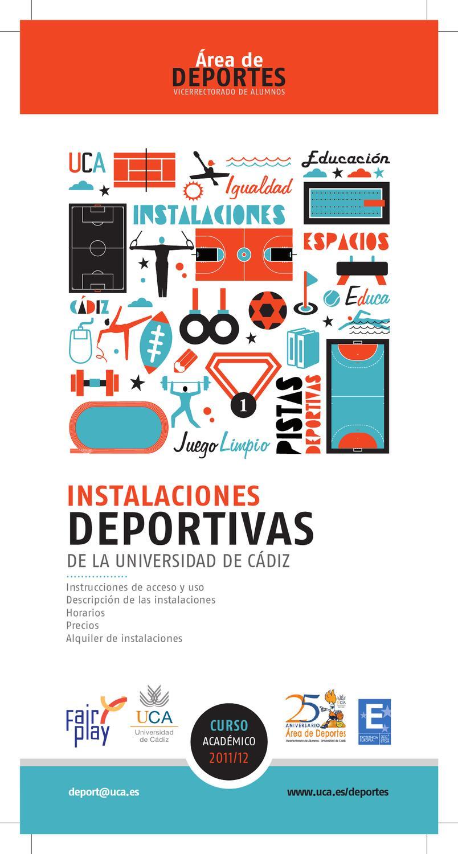 Uca Calendario Academico.Programa De Instalaciones Deportivas 2011 2012 By