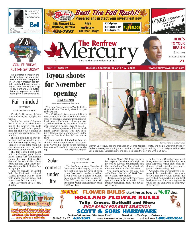 519226d0 Renfrew Mercury by Metroland East - Renfrew Mercury - issuu