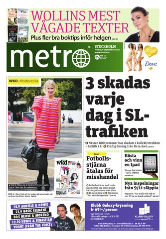 big sale f7a5a 47d04 20110909 se stockholm by Metro Sweden - issuu