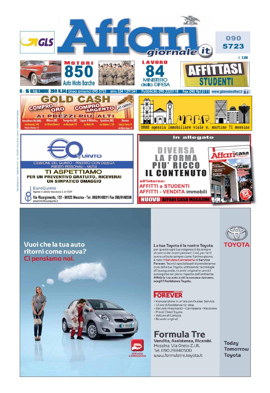 9a5446c328 Giornale Affari 9 Settembre 2011 by Editoriale Affari Srl - issuu