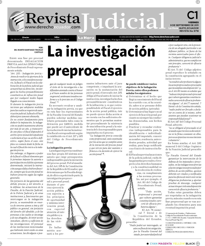 Edicion Impresa Revista Judicial Del 09 De Septiembre De 2011 By  # Barre Duque Muebles