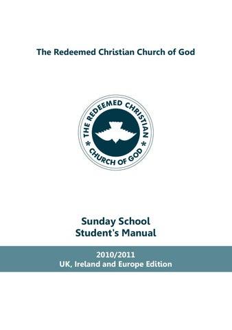 rccg sunday school manual 2011 by raphael olurotimi issuu rh issuu com 2013 LDS Sunday School Manual RCCG Sunday School Manual 2013