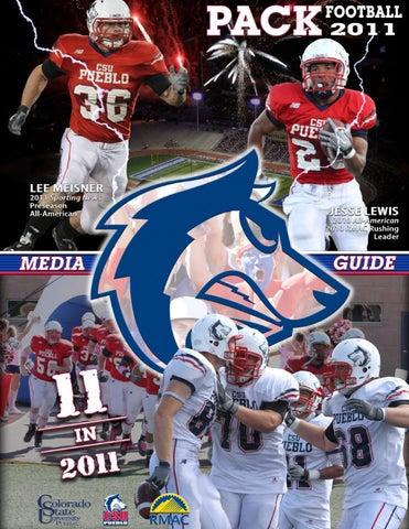 best service 8138c e0fce 2011 CSU-Pueblo Football Media Guide by Colorado State ...