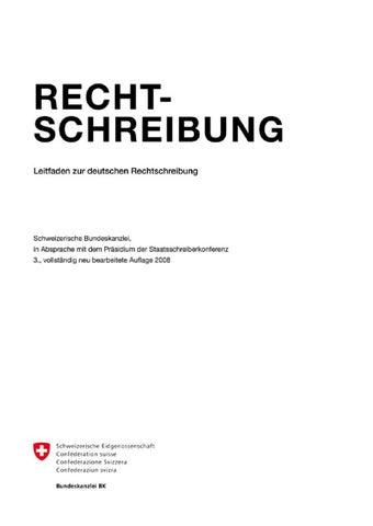 Leitfaden Zur Deutschen Rechtschreibung By Suremann Issuu