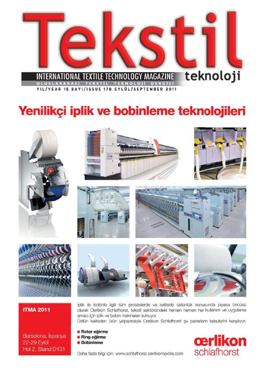 Tekstil Teknoloji By Tekstil Teknoloji Issuu