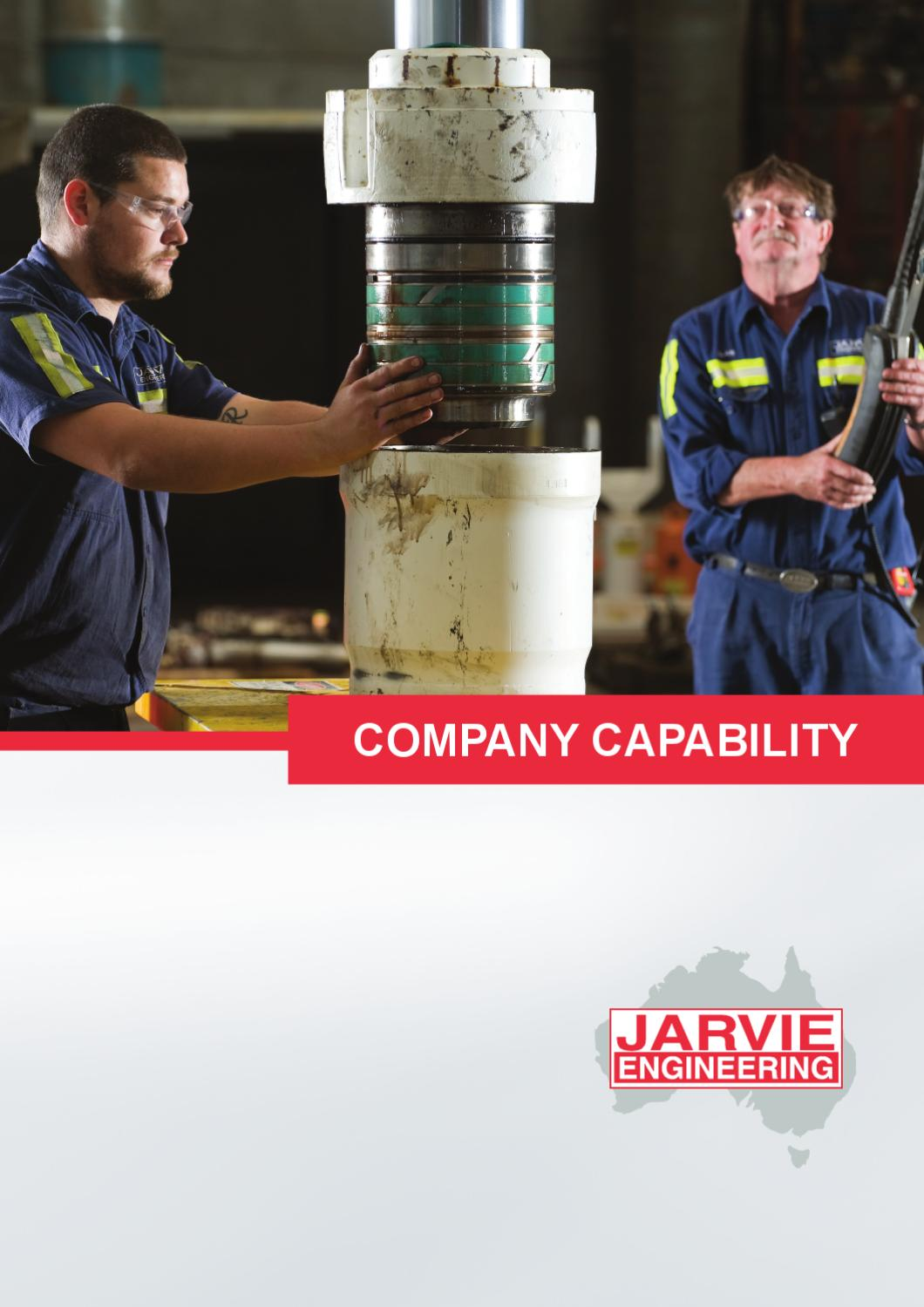 Jarvie Engineering Corporate Capability by MAP Marketing - issuu