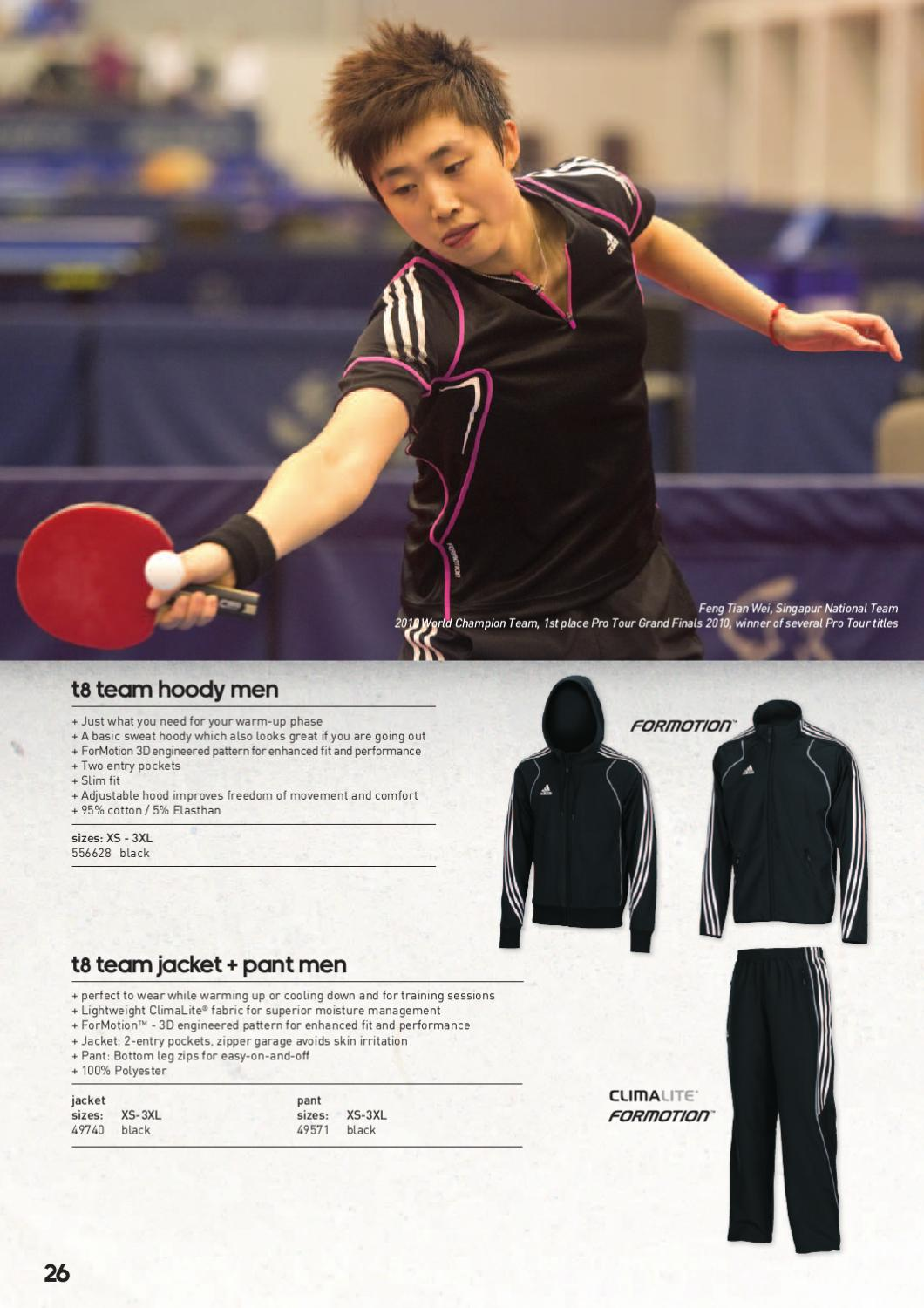 f8e9a1b5e20 Adidas Table Tennis by LivingSport A S - issuu