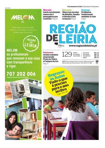 Região de Leiria 9 Setembro 2011 by Região de Leiria Jornal - issuu 2f776f0433f