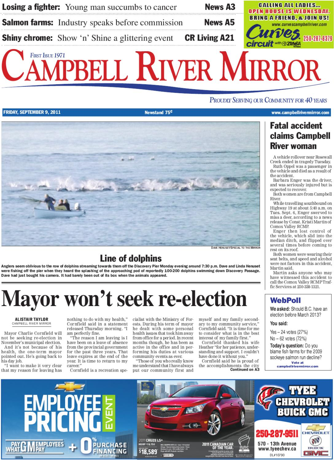 Fri september 9th 2011 by campbell river mirror issuu fandeluxe Image collections