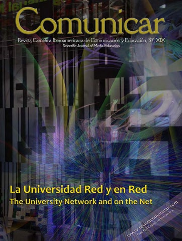 cc42c094f67e Revista Comunicar 37  The University Network and on the Net by ...
