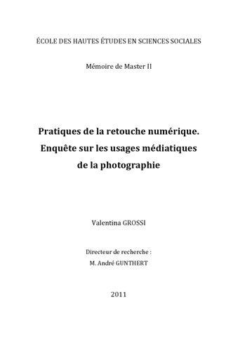 Valentina Grossi, La retouche numérique by André Gunthert - issuu 2008ec17c0c8