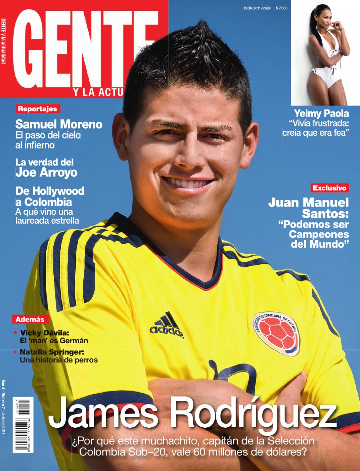 Revista Rodriguez Issuu James Colombia By Gente STnrHq8Sw