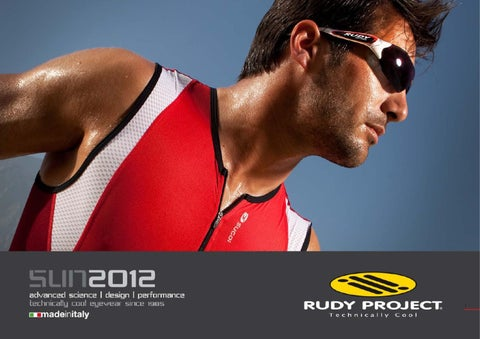 43f510ae8e0 Rudy Project Sunglasses Catalog 2012 by Rudy Project - issuu