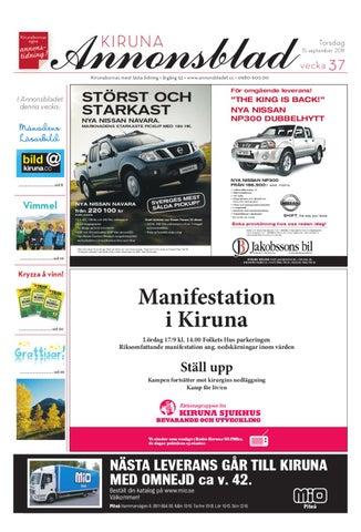 Kiruna Annonsblad 2011 v.37 by Svenska Civildatalogerna AB - issuu 8e178c3a504f0