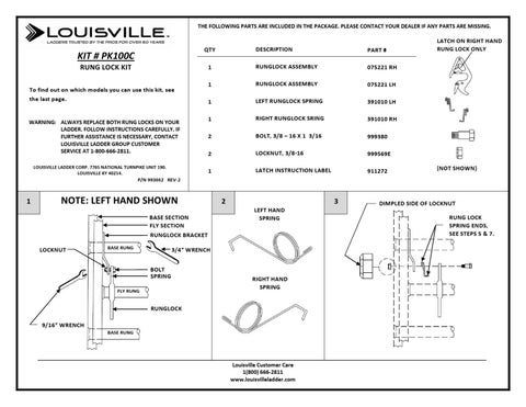 Pk100c By Louisville Ladder Inc Issuu