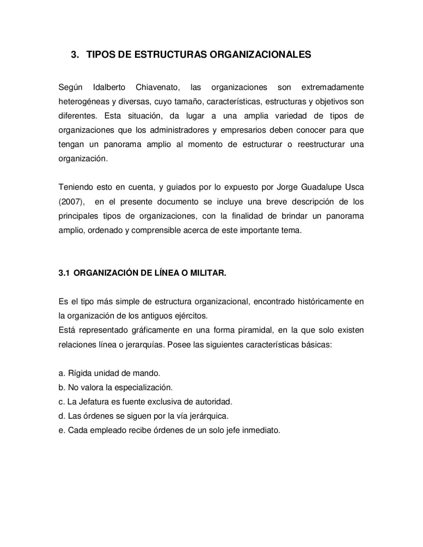 Tipos De Organizaciòn By Jaime Paguay Issuu
