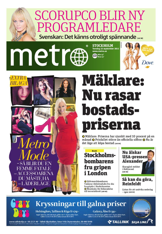 20110915_se_stockholm by Metro Sweden issuu