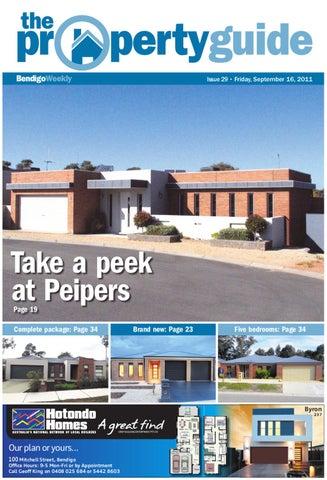 bendigo weekly property guide issue 729 september 16 2011 by bendigo rh issuu com