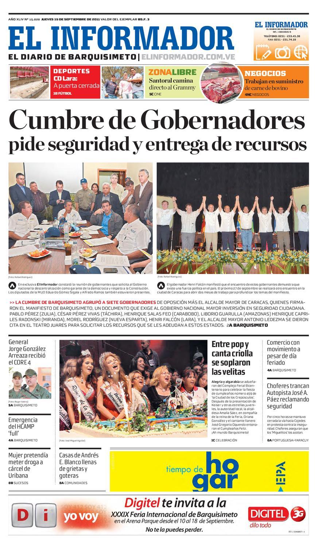 El Informador impreso 2011.09.15 by El Informador - Diario online ...