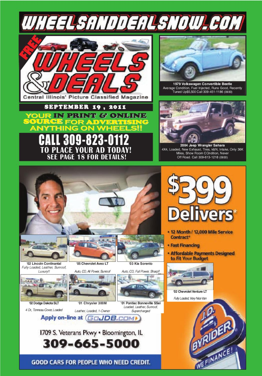 Wheels & Deals by Wheels and Deals - issuu