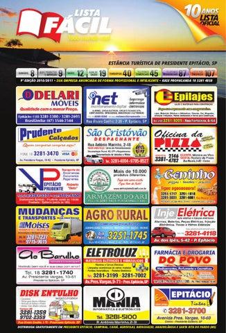 47ba4c58de4 LISTA FÁCIL 2011 • Presidente Epitácio