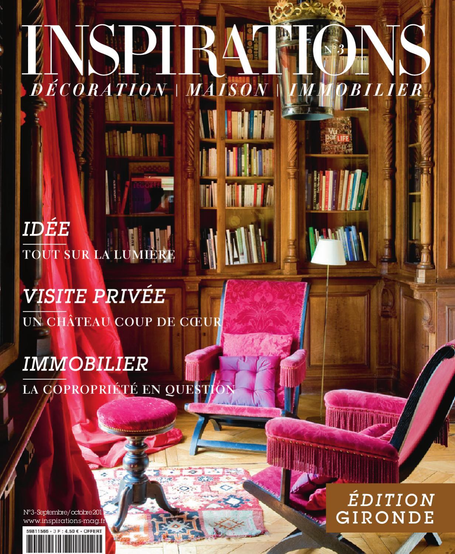 Le Bon Coin Gironde Ameublement inspirations - edition gironde - n°3 (septembre-octobre 2011