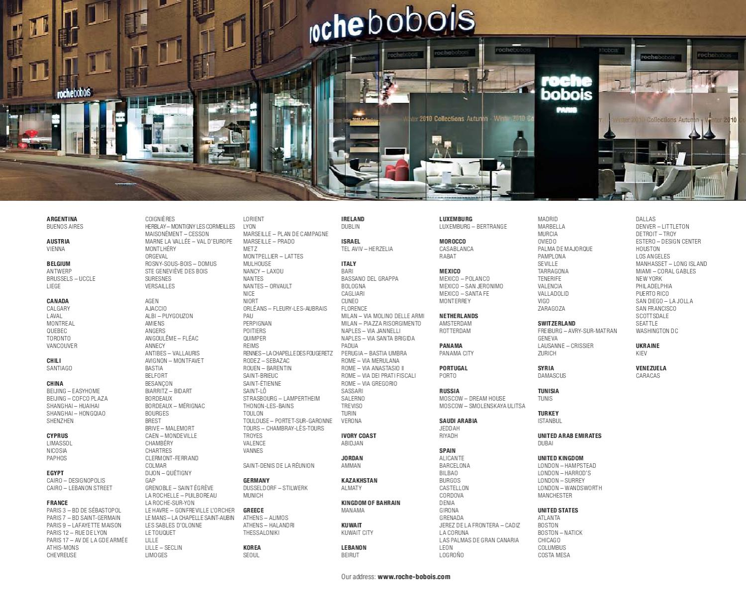 Roche Bobois - Les Contemporains collection by lakbermagazin - issuu