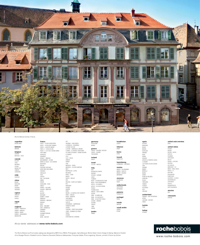 Roche Bobois Les Provinciales Collection by lakbermagazin ...