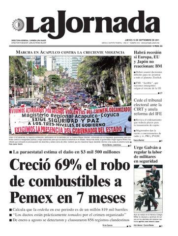 La Jornada 09 15 2011 By La Jornada Issuu