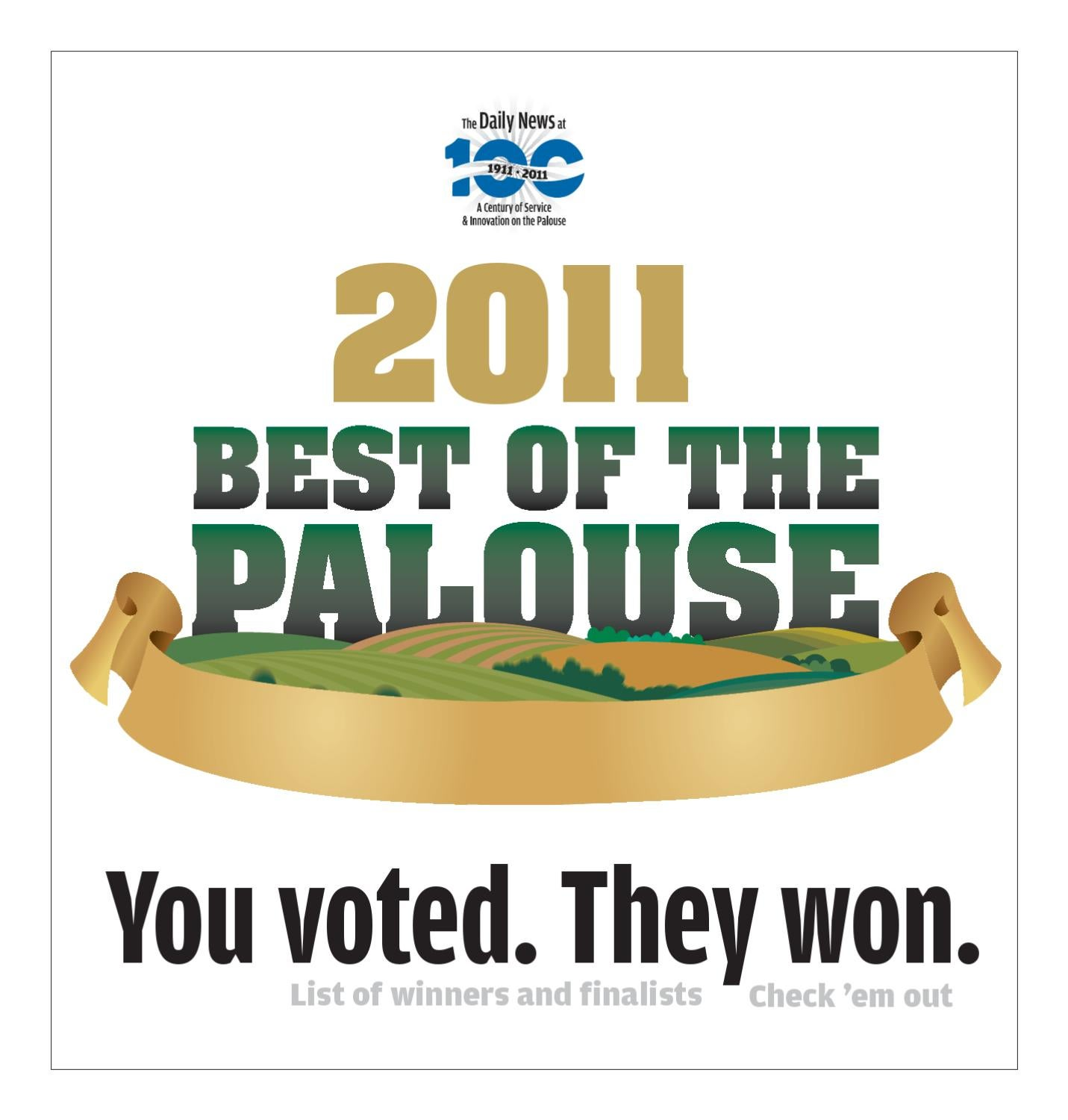 Best Of The Palouse 2011 By Moscow Pullman Daily News Issuu