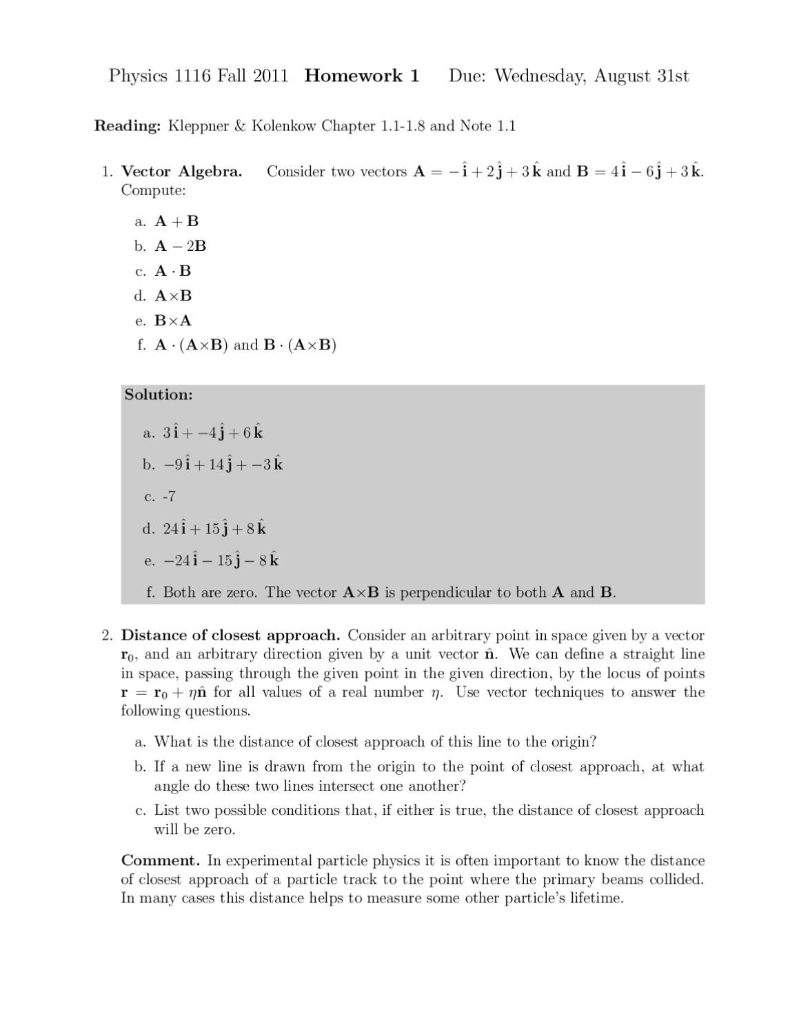 problem set1 answers Problem set g problem solution solution to practice problems in e, f, and g problem set h problem solution practice set problem solution.