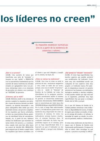 """Page 17 of """"NADIE VA A CREER, SI LOS LÍDERES NO CREEN"""""""