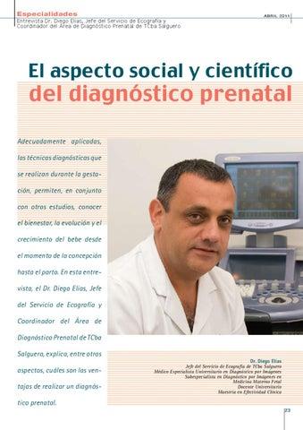 Page 23 of EL ASPECTO SOCIAL Y CIENTÍFICO DEL DIAGNÓSTICO PRENATAL
