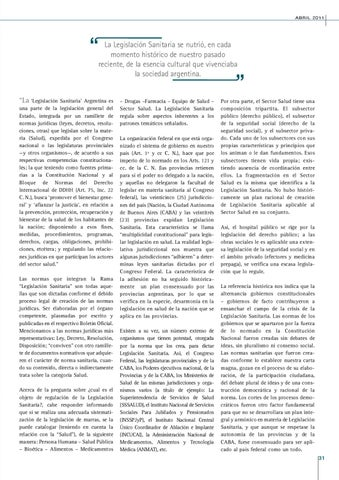 Page 31 of LA CRISIS DE LA LEGISLACION SANITARIA.