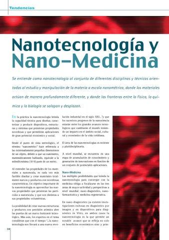 Page 34 of NANOTECNOLOGÍA Y NANO-MEDICINA.
