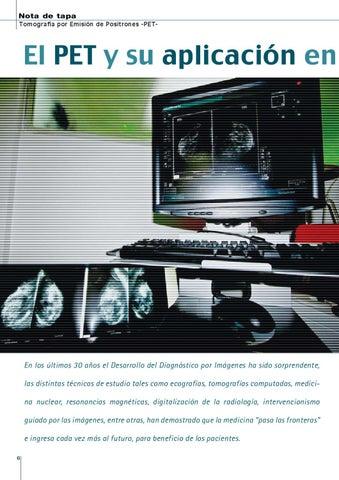 Page 6 of EL PET Y SU APLICACIÓN EN LA MEDICINA DIAGNÓSTICA