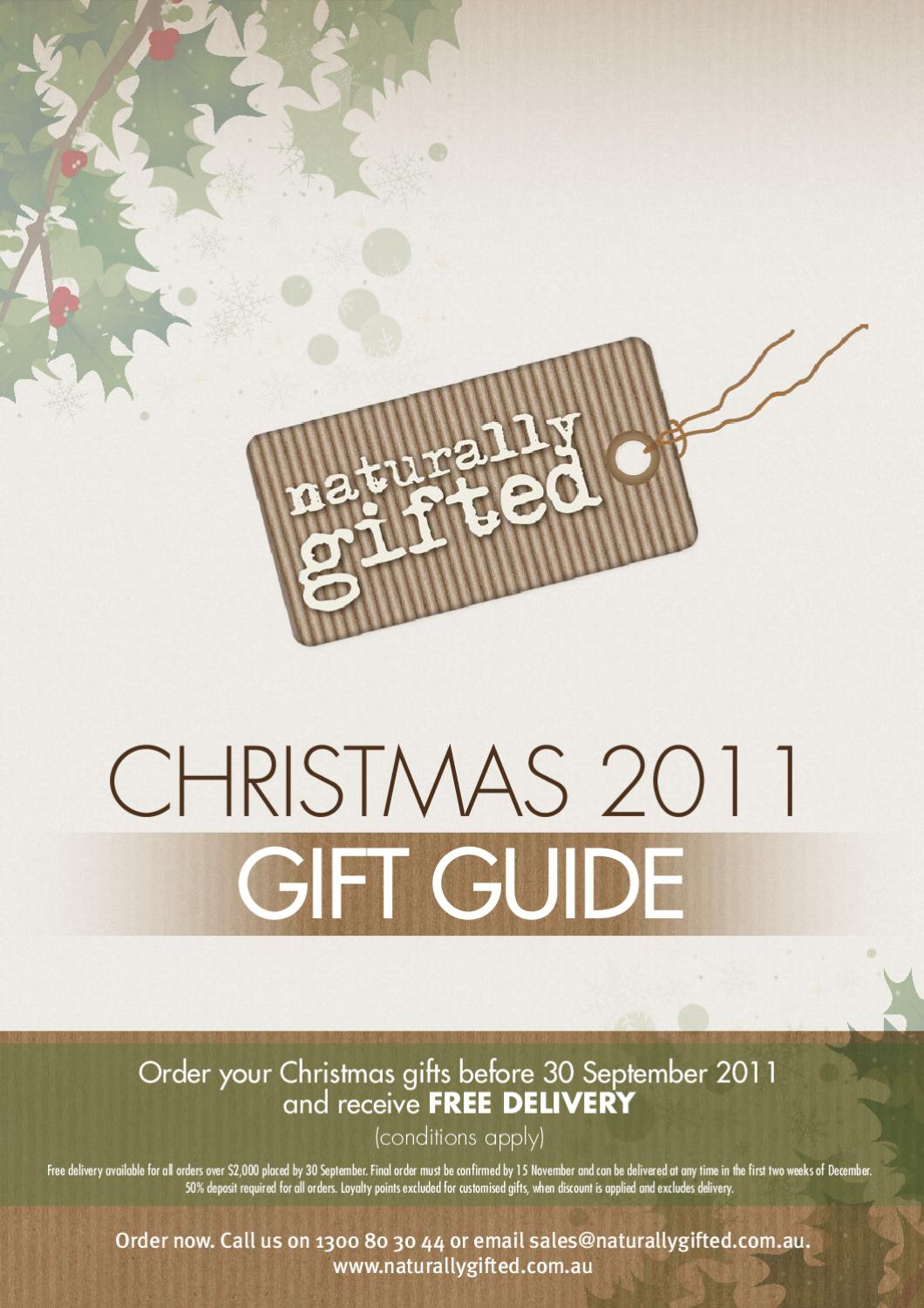 Order now for christmas delivery gift