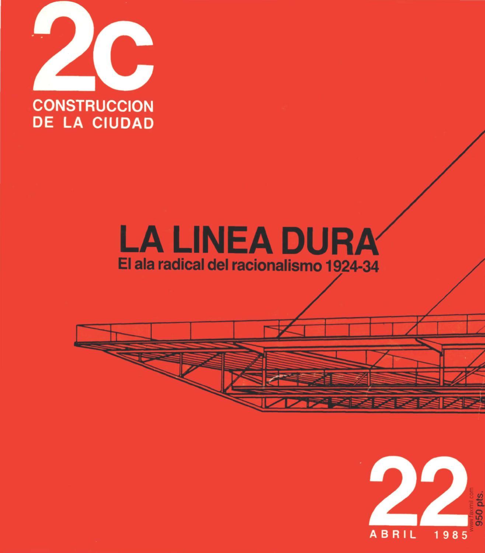 2C. Construcción de la ciudad. Número 22. Abril 1985 by Faximil ...